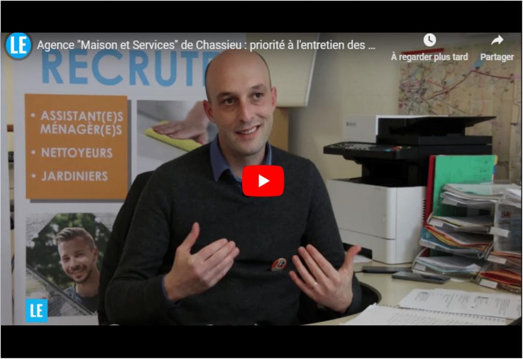 Agence Maison et Services de Chassieu : priorité à l'entretien des maisons et des jardins