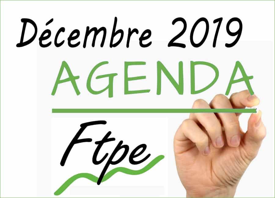 Agenda FTPE Auvergne Rhône-Alpes Déc. 2019 : les RDV de la Très Petite Entreprise