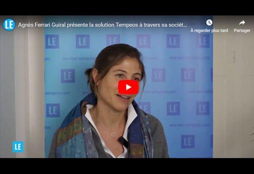 Agnès Ferrari Guiral présente Tempeos, la solution d'Inter CE pour TPE – PME