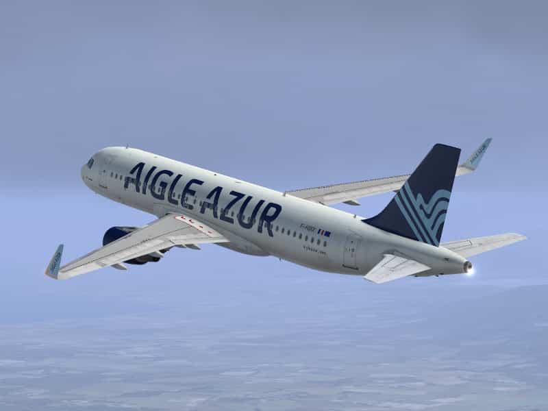Ses avions cloués au sol : Aigle Azur en redressement judiciaire est la 9ème compagnie opérant à Lyon-Saint-Exupéry