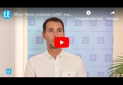 Alban Morin présente GANT magasin de vêtements