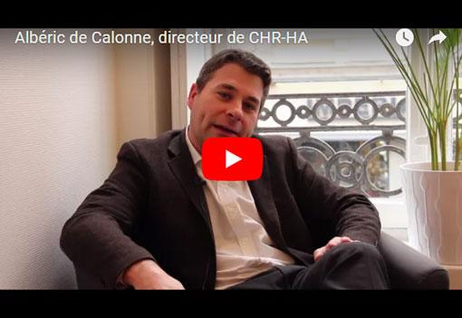 Albéric de Calonne, directeur de CHR-HA