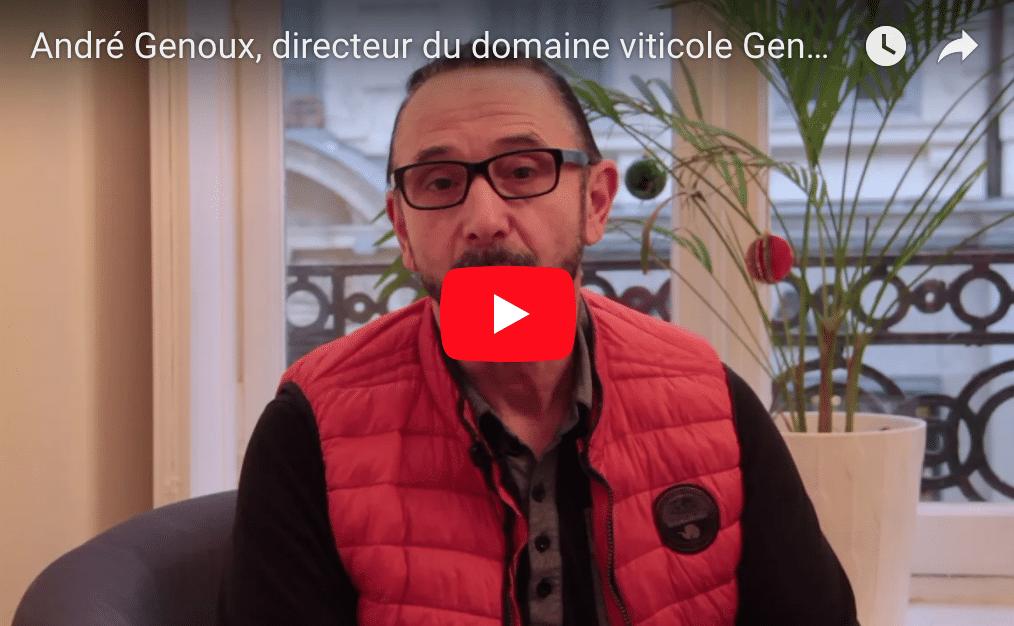 André Genoux, directeur du domaine viticole Genoux, nous en parle