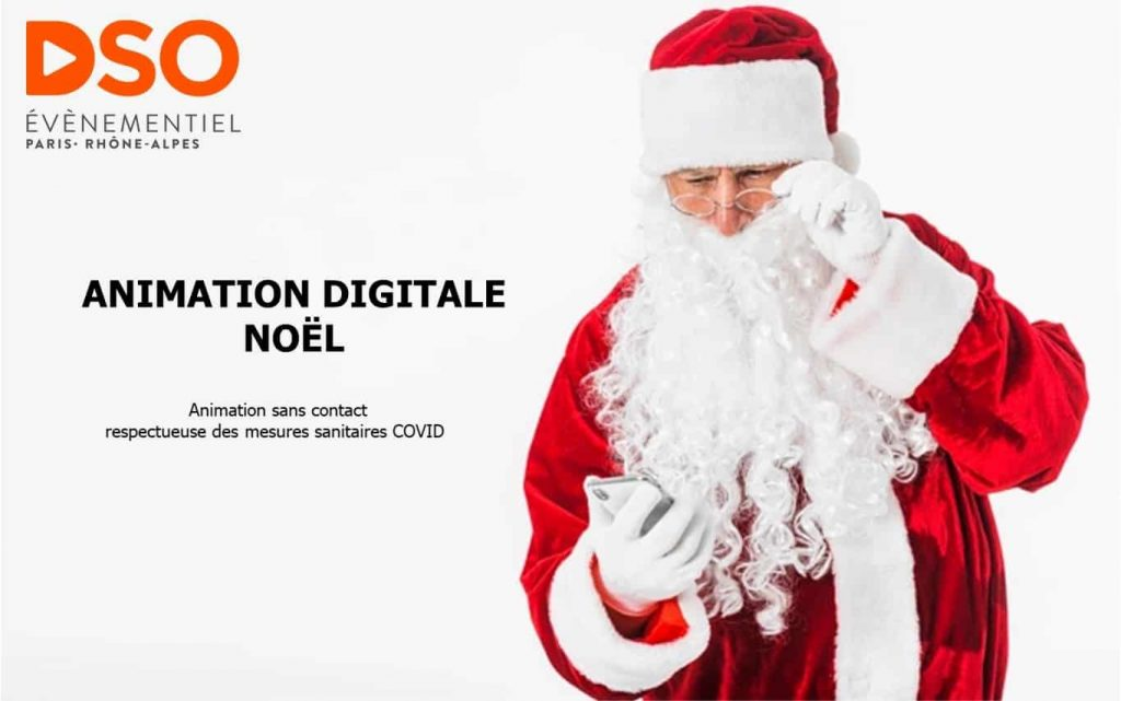 Animation digitale Noel