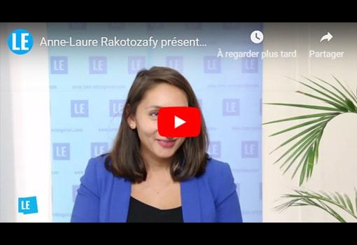 Anne-Laure Rakotozafy présente A-L EVENTS, organisateur d'événements pour les entreprises