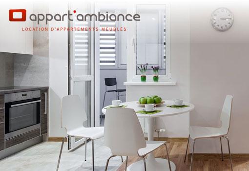 Appart'ambiance loue votre appartement meublé aux cadres d'entreprises en déplacement