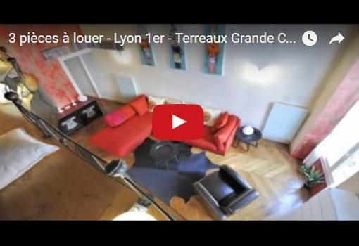Appartement à louer au coeur de Lyon (1er) : 3 pièces aux Terreaux pour un séjour de courte durée