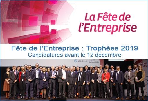 Appel à candidatures Fête de l'Entreprise 2019 CPME 69