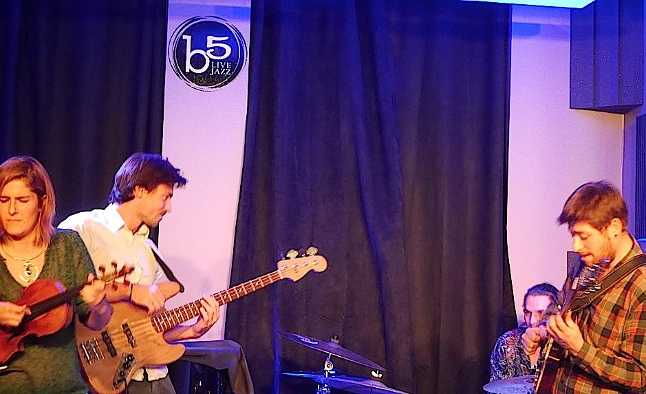 Après un an et demi d'existence, le Bémol 5 à Lyon veut jouer toute les palettes du jazz