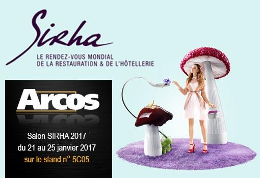 ARCOS vous donne rendez-vous au SIRHA 2017