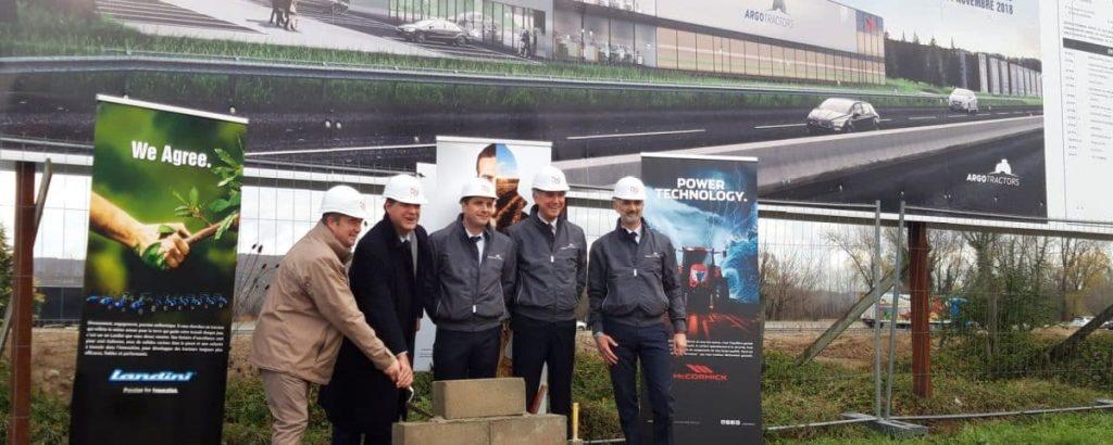 Deux entreprises s'installent à Vaulx-Milieu : Argo Tractors France et Coltrax