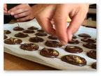 Finitions fabrication chocolats