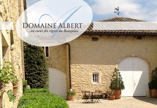 Au coeur des vignes du Beaujolais, le Domaine Albert