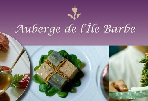 Auberge de l'Ile Barbe : une nouvelle partition savoureuse et enjouée !