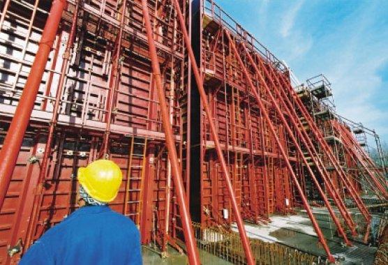 Banche métallique ELPAC pour coffrage par modules