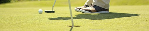 Activité Golf entre collaborateurs au Grand Parc