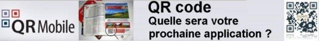 Banniere QR mobile