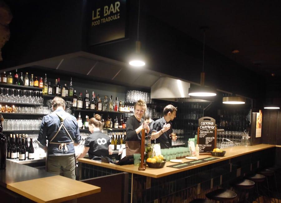 """Réouverture  en mode """"réservation"""" du Food Traboule à Lyon qui développe désormais la vente à emporter"""