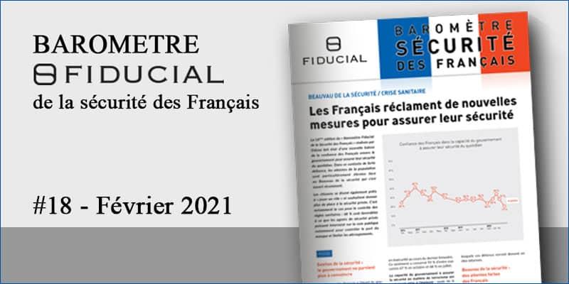 Les Français réclament de nouvelles mesures pour assurer leur sécurité [Baromètre Sécurité FIDUCIAL #18]