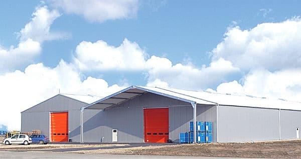 Bâtiment industriel modulaire et démontable Atelier, entrepôt, hangar pour l'industrie