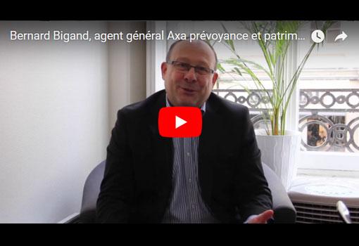 Bernard Bigand, agent général AXA PREVOYANCE & PATRIMOINE