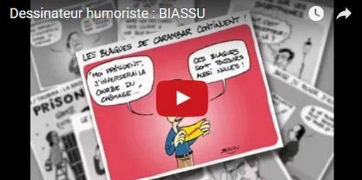 Biassu met l'humour au service de l'entreprise