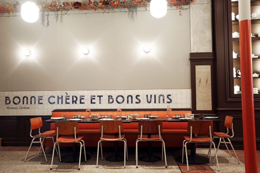 Bouillon Baratte, la nouvelle brasserie moderne au coeur de Lyon