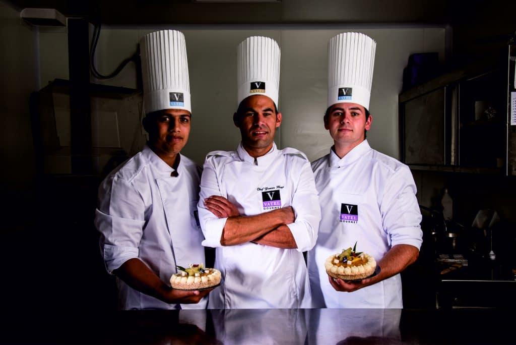 Broderie de qualité pour client exigeant : VATEL Gourmet de Lyon
