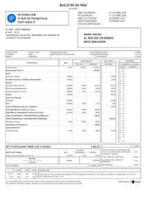 Exemple de bulletine de paie Payfit