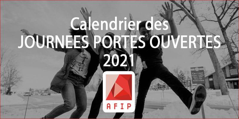 Découvrez les métiers de votre avenir : Journées Portes Ouvertes 2021 AFIP Formation