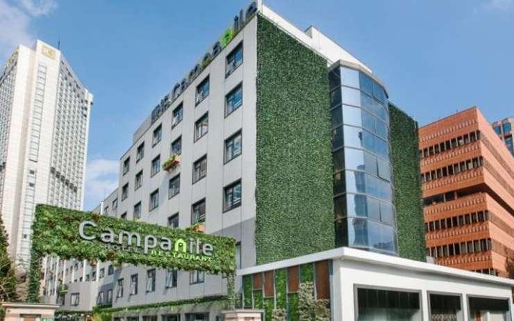 Une nouvelle formule d'hôtel Campanile très high tech du groupe Louvre Hôtels va ouvrir ses portes à Lyon
