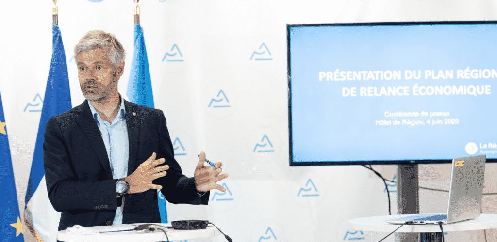 BTP, préférence régionale, relocalisation, greentech : le plan Wauquiez à 1 milliard d'euros pour relancer l'économie régionale