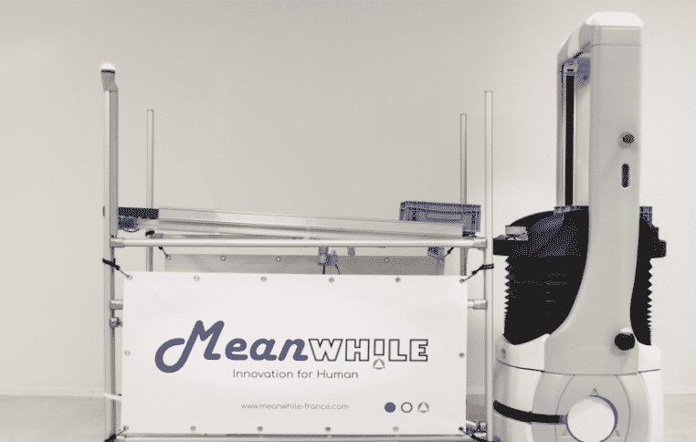 Les robots médicaux de la start-up villeurbannaise Meanwhile remportent le Prix de l'Innovation 2020 Medi'Nov