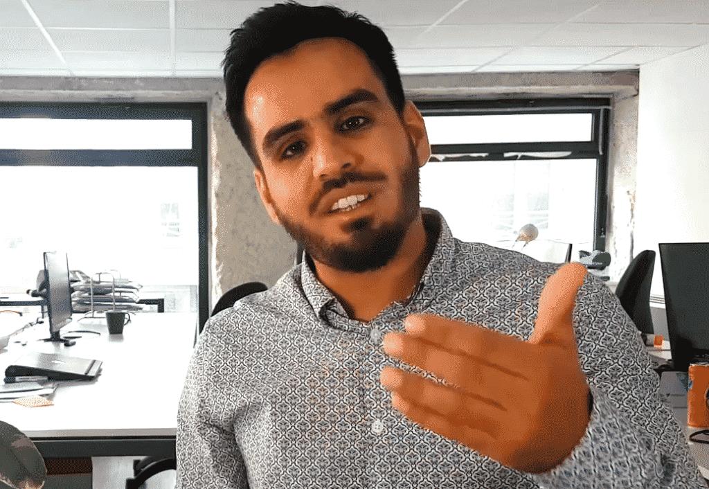 """Le lauréat national des """"Talents des Cités"""" 2020 est un entrepreneur de Vaulx-en-Velin, d'origine afghane,  Abderhaman Nour Ebad"""