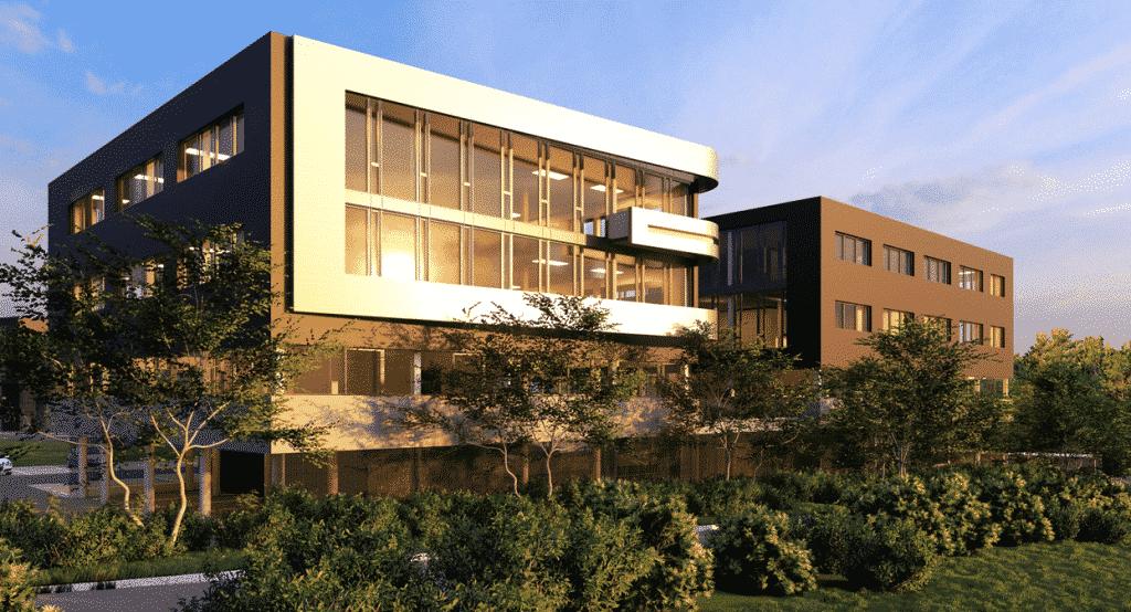 Le promoteur lyonnais DCB International lance les travaux de son programme Plug & Play : 16 500 m2, à Limonest