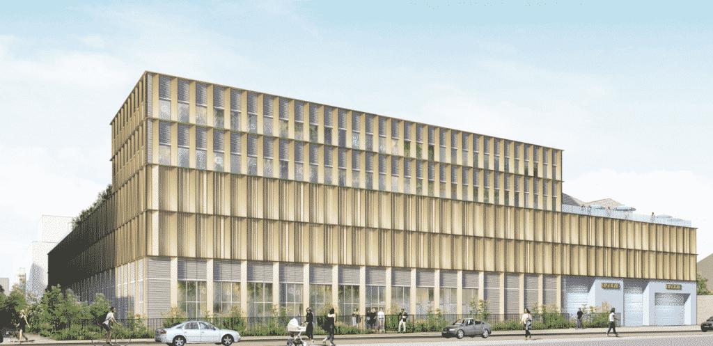 L'immense  friche Fagor-Brandt de Gerland va accueillir  le 3ème site lyonnais du grossiste alimentaire Metro, 1 400 salariés d'Enedis, mais aussi des logements