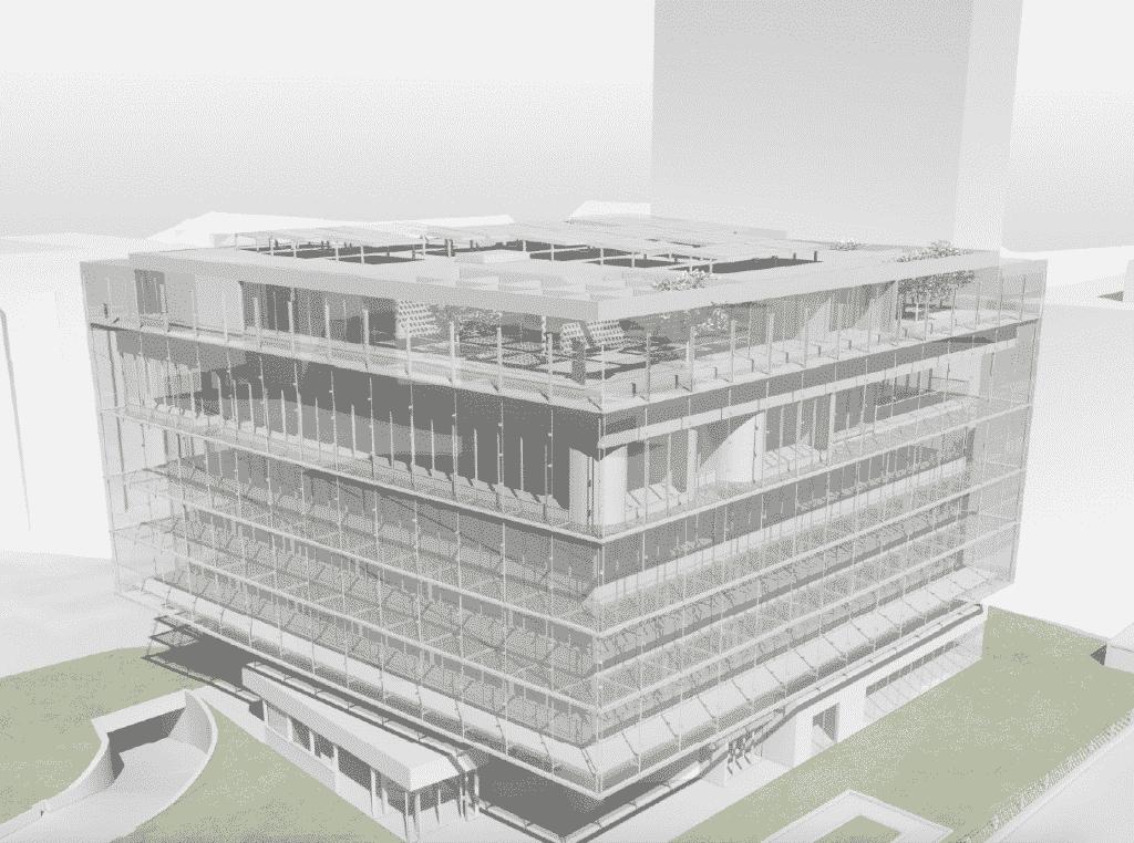 Un investissement de 13 millions d'euros : le siège/vitrine de la Fédération BTP Rhône et Métropole va faire (double) peau neuve