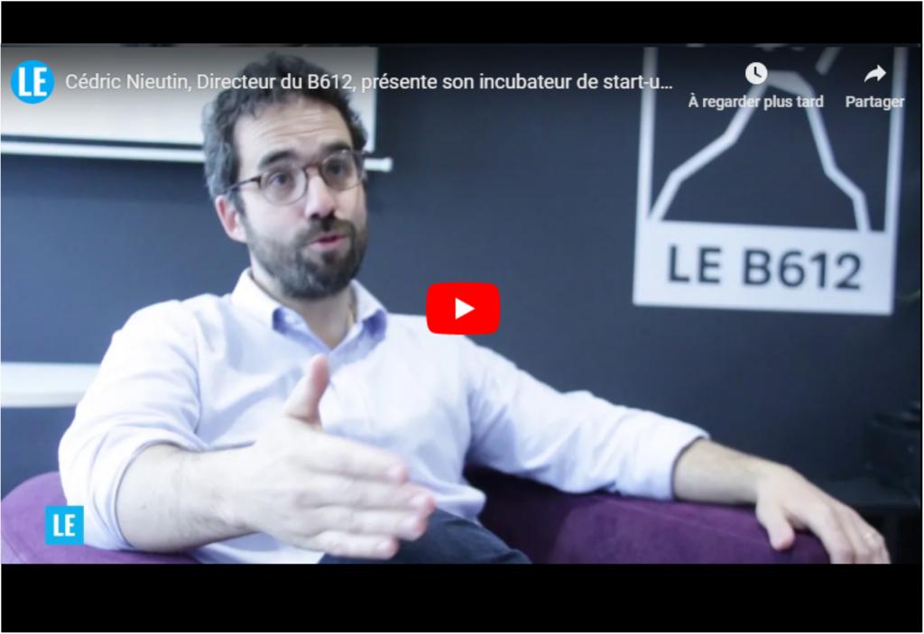 Cédric Nieutin, Directeur, présente l'incubateur B612