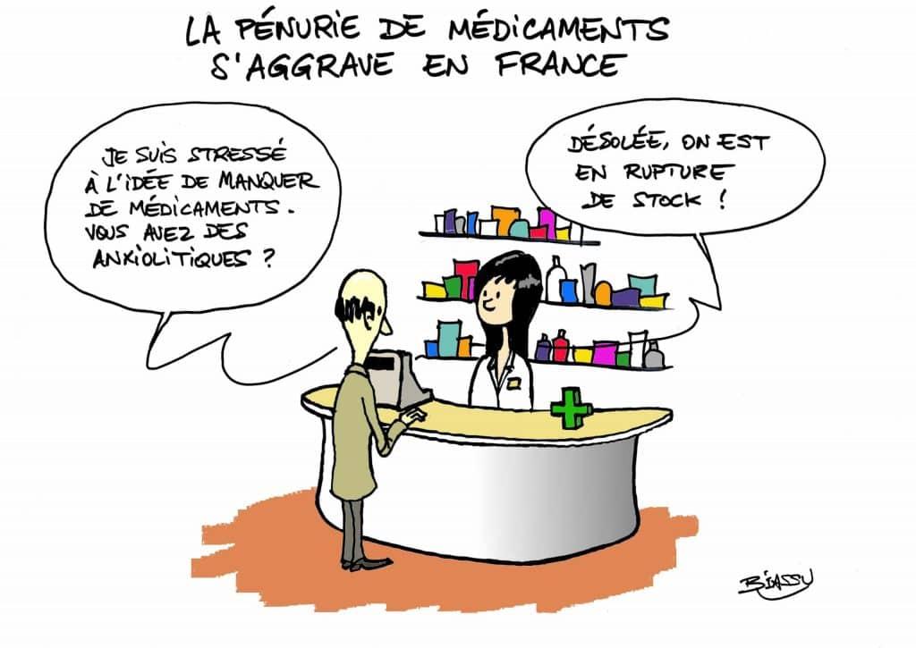 Crise des médicaments : c'est la dèche !