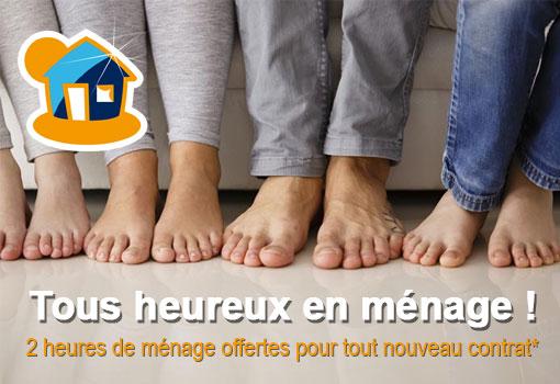 C'est la rentrée : Maison & Services offre 2 heures de ménage pour tout nouveau contrat !