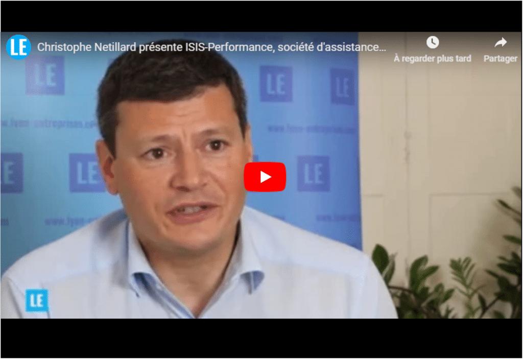 Christophe Netillard présente ISIS-Performance, société d'assistance et de services informatiques