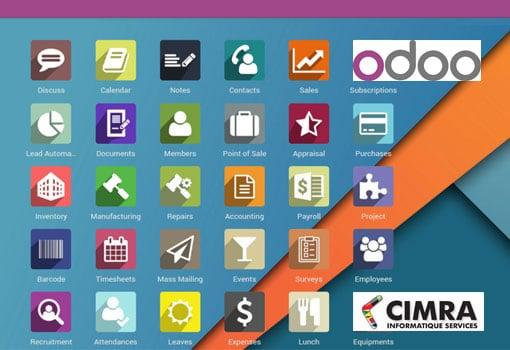 CIMRA et Odoo, au service de la gestion de votre entreprise