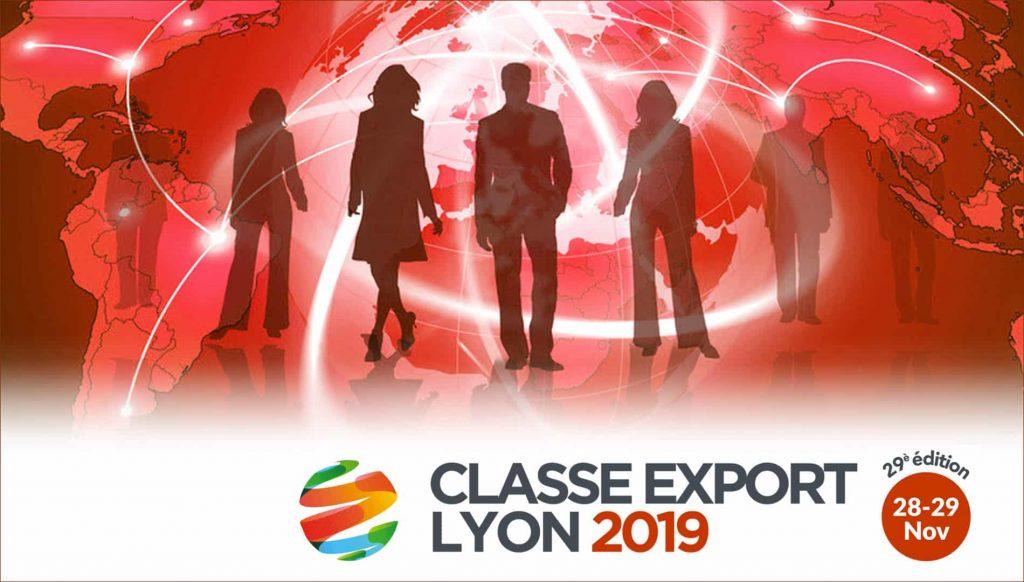 CLASSE EXPORT #29, le RDV des exportateurs ouvre ces portes les 28 et 29 Novembre à Lyon