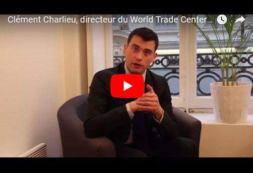 Clément Charlieu, Directeur du World Trade Center