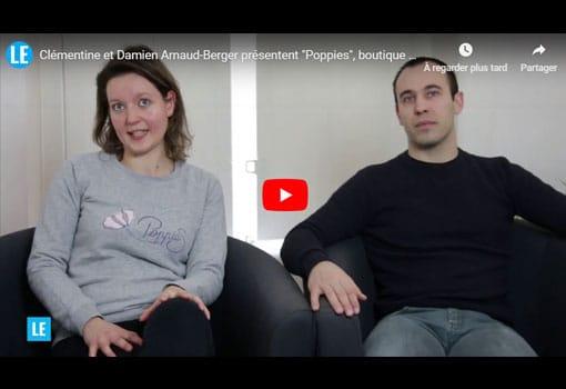 """Clémentine et Damien Arnaud-Berger présentent """"Poppies"""", boutique en ligne d'objets de déco"""