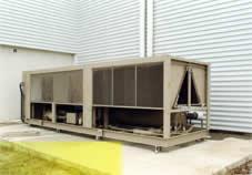 Climatisation et chauffage pour bâtiment industriel