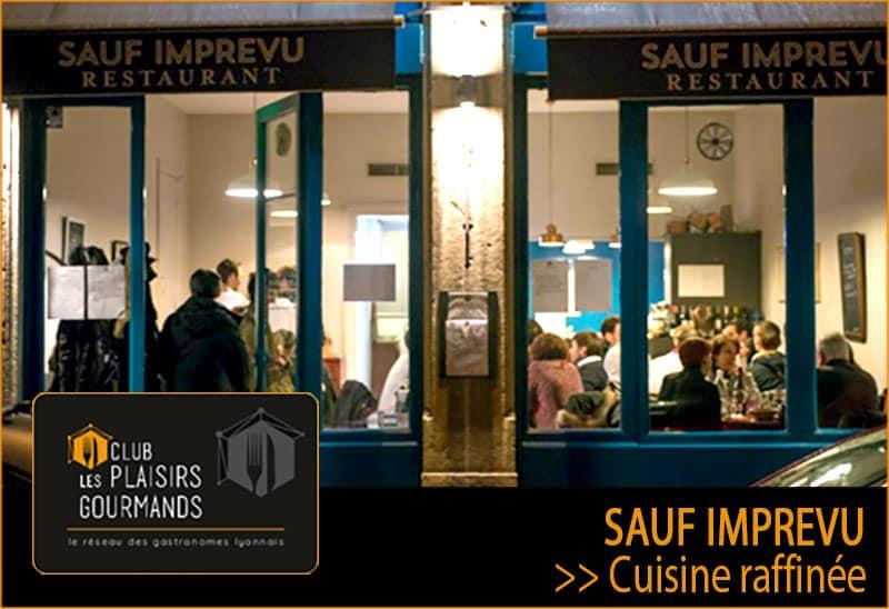 63ème soirée network Plaisirs Gourmands au restaurant Sauf Imprévu [Mercredi 18 Décembre]