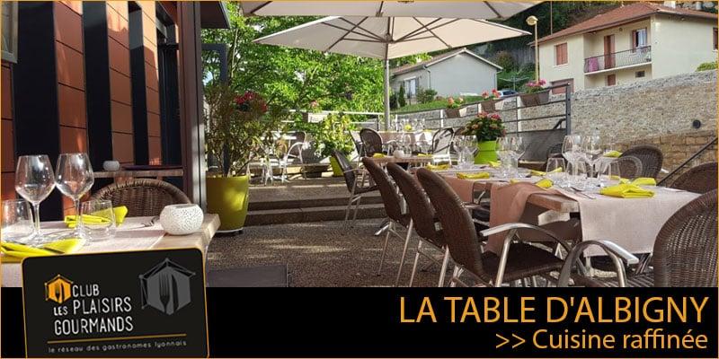 68ème Soirée Network du Club à La Table d'Albigny le Jeudi 9 Juillet [Club Les Plaisirs Gourmands]