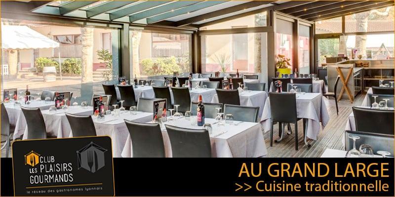 Jeudi 17 Septembre : 24ème Déjeuner du Club au restaurant Au Grand Large [Club Les Plaisirs Gourmands]