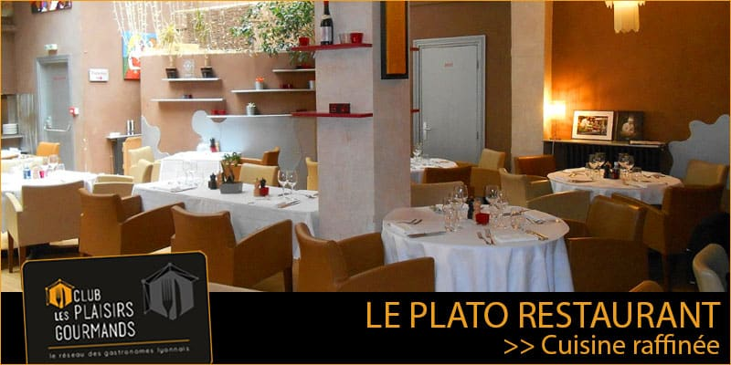 Mardi 22 Septembre 2020 : Déjeuner Network #108 au restaurant Le PLATO